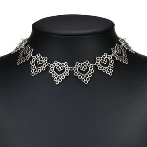 Jewelry - New Silver Chain Choker Necklace